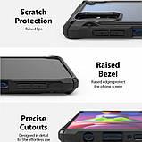 Чохол для Samsung Galaxy M51 Ringke серія Fusion X, колір BLACK (чорний), фото 4