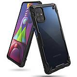 Чохол для Samsung Galaxy M51 Ringke серія Fusion X, колір BLACK (чорний), фото 2
