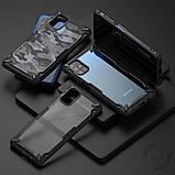 Чохол для Samsung Galaxy M51 Ringke серія Fusion X, колір BLACK (чорний), фото 9