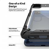 Чохол для Samsung Galaxy M51 Ringke серія Fusion X, колір BLACK (чорний), фото 5