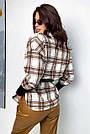 Сорочка в клітку жіноча з кашеміру тепла, фото 6