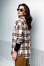 Сорочка в клітку жіноча з кашеміру тепла, фото 7