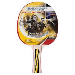 Ракетка для настільного тенісу Donic Top Teams 500. Дублікат