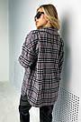 Сорочка в клітку жіноча з кашеміру тепла, фото 10