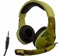 Игровые наушники с микрофоном Tucci A4 камуфляжные