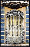 Кованая решетка для дворца