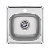 Кухонна мийка Imperial 3838 Satin (IMP383806SAT), фото 1