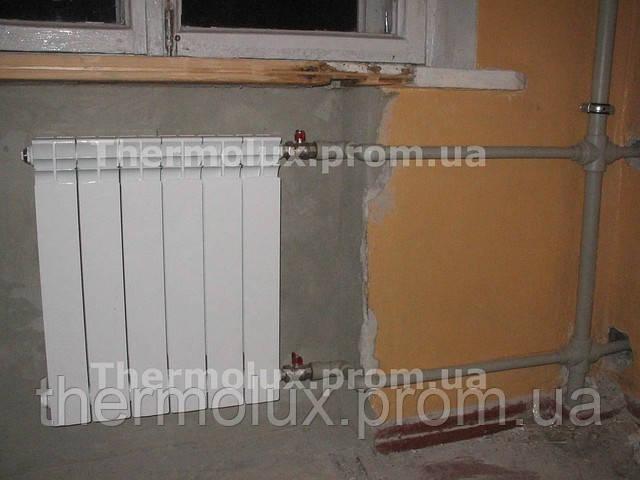 замена радиаторов отопления харьков сантехработы харьков поменять радиаторы харьков