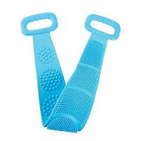 Силиконовая щетка для душа Silicone bath towel, универсальная мочалка для душа, скрабер-массажер