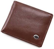 Шкіряне чоловіче портмоне з затиском ST Leather