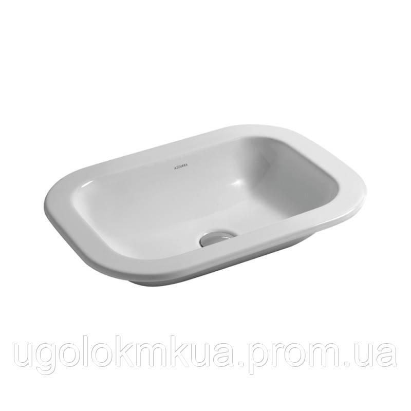 Раковина Azzurra Glaze GLZ50X40B1SP Shiny white