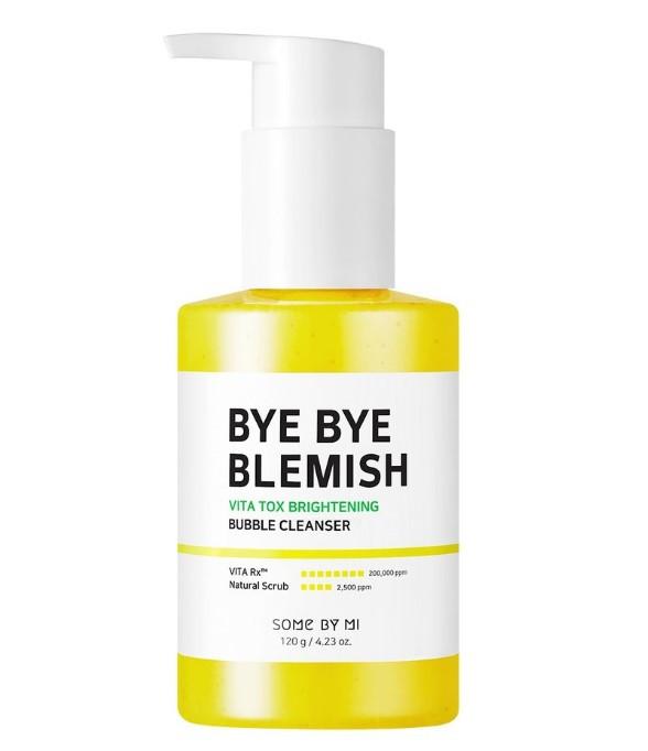 Осветляющая пузырьковая маска-пенка Some by mi Bye Bye Blemish Vita Tox Brightening Bubble Cleanser 120 мл