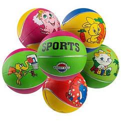 Мяч баскетбольный резиновый №3 Sport, R3SP.