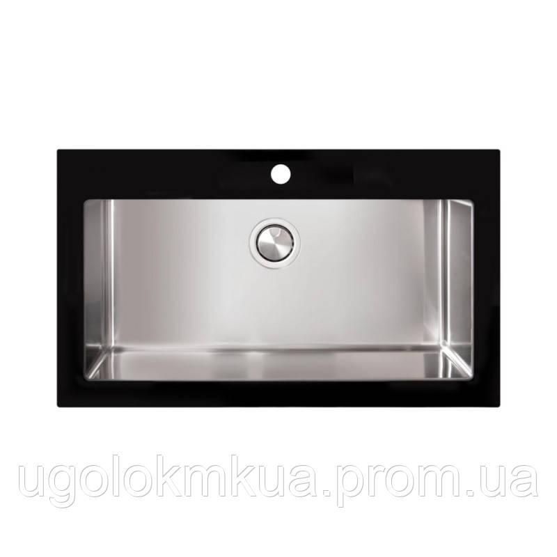 Кухонна мийка Apell Pura PUG861IBC Brushed