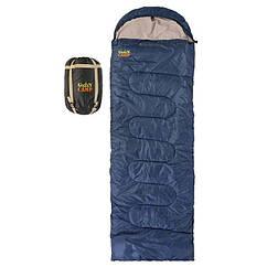 Спальник GreenCamp, ковдру, 450гр/м2, синій, GRC1009