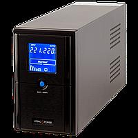 Линейно-интерактивный источник бесперебойного питания (UPS) LogicPower LPM-L625VA (437W) LCD