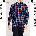 Рубашка в клетку мужская Pierre Cardin из Англии - на длинный рукав, фото 4