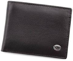 Чоловічий шкіряний гаманець з затиском ST Leather
