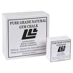 Магнезия спортивная, белая упаковка.