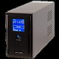 Линейно-интерактивный источник бесперебойного питания (UPS) LogicPower LPM-L825VA (577W) LCD