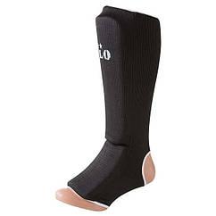 Защита ноги Velo, х/б, эластан, черный 1027, размер S, M, L, XL, mod 1027