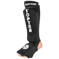 Защита ноги TopTen, эластан, черный, липучка, размер S, M, L, XL mod 1225TTB