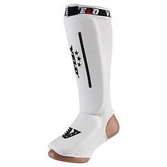 Защита ноги Velo, х/б, эластан, белый, липучка, размер S, M, L, XL, mod 1225V