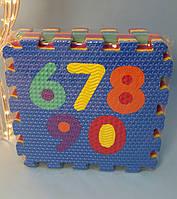 М'який килимок мозаїка пазли M 2609 Цифри, фото 1