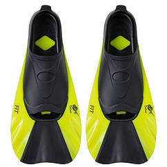 Ласты Dolvor FIT F368, р-р 2XS(34-35), лимон. Скидка