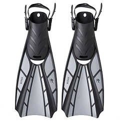 Ласти Dolvor Batman F123, р-р S(36-40), сірий. Знижка