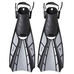 Ласти Dolvor Batman F123, р-р M(40-44), сірий. Знижка