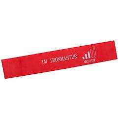 Стрічка опору, червоний, 600*50*0,95 мм, IronMaster