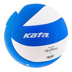 Мяч волейбольный Kata 200 PU сине/белый. Скидка