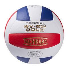 Мяч волейбольный Tachikara T-WRB-2, бело/красно/синий. Скидка