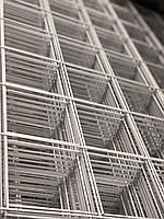 Металлическая торговая сетка 100/190см ячейка 10см БЕЛАЯ, фото 1