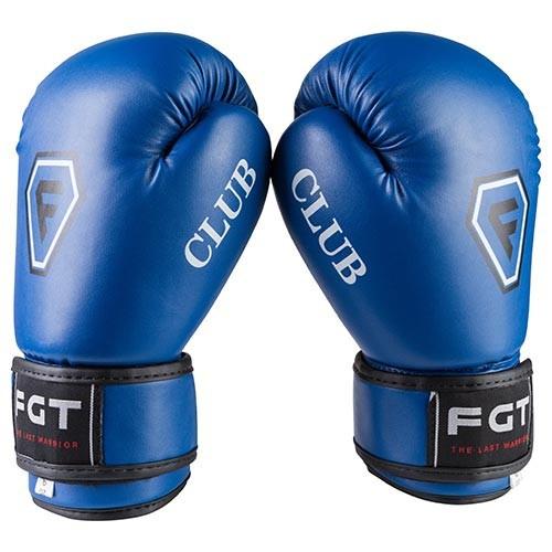Боксерські рукавички CLUB FGT, Flex, 6oz, синій.