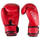 Боксерские перчатки CLUB FGT, Flex, 6oz, красный., фото 2