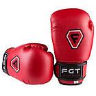 Боксерские перчатки CLUB FGT, Flex, 6oz, красный., фото 3