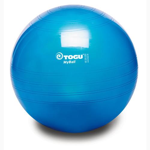 М'яч фітнес TOGU 65 см, MyBall, синій (Blue Transparent)