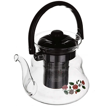 Заварочный чайник стеклянный для заварки чая 800 мл