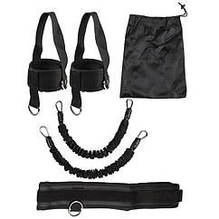 Эспандер трубчатый для приседаний, для ног, фитнеса.