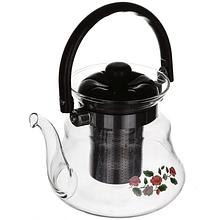 Заварочный чайник стеклянный для заварки чая 1200 Мл