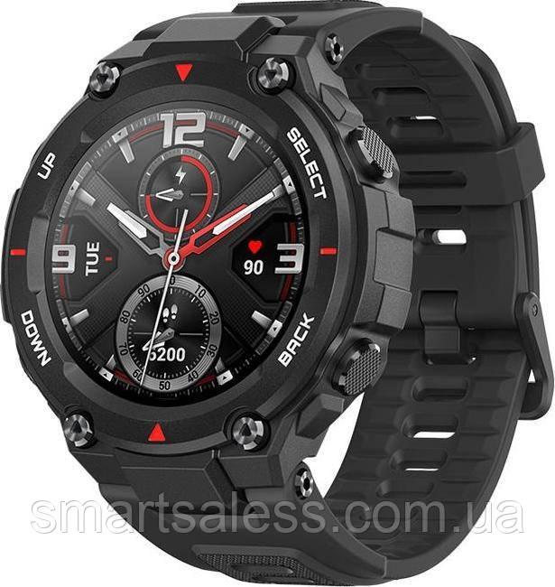 Amazfit T-Rex Rock A1919 Black  Смарт часы с Закаленным стеклом Corning Gorilla 3-го поколения