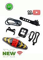 Велофонарь, задний стоп/габарит с указателями поворотов, USB, GA-113, фото 1
