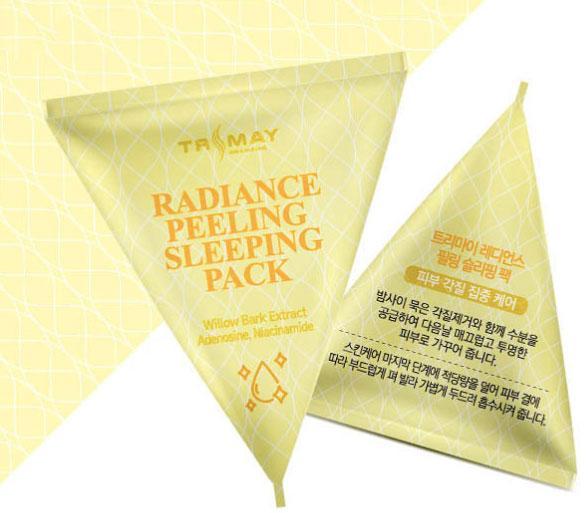 Отшелушивающая ночная маска Trimay Radiance Peeling Sleeping Pack 3 г