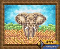 Схема для вышивки бисером - Слон, Арт. ЖБч3-169