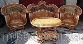 Набор плетеной мебели Люкс