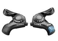 Манетка Shimano 6-ік проста, SL-TX30 3х6