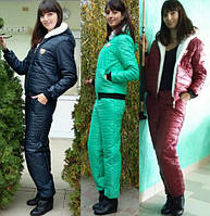Женский теплый костюм на синтепоне р. 42 по 54!
