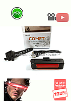 Стоп COMET YH-013, тип зарядки USB, 100 Lumens, модель мигалки G-25, фото 1